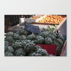 Art de Choke Canvas Print