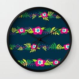 Flower Strand Wall Clock