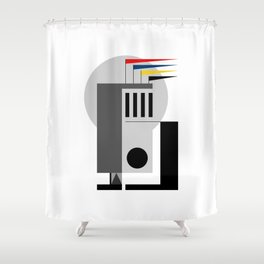 BAUHAUS DREAMING Shower Curtain