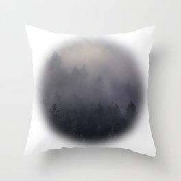 Eagle Mist Throw Pillow