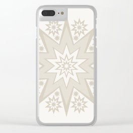 Coffee Creams Fireworks Clear iPhone Case