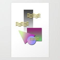 kool shaps Art Print
