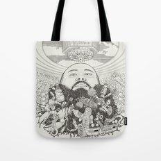 ACTION BRONSON Tote Bag
