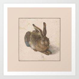 Albrecht Durer - The hare Art Print