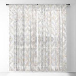 Royalty || #pattern #minimal Sheer Curtain