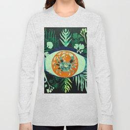 Third Eye Zodiac, Cancer Long Sleeve T-shirt