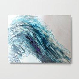 Angel Wing of Blue 2 Metal Print