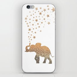 GOLD ELEPHANT iPhone Skin