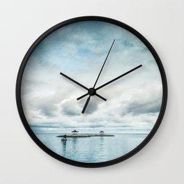 silent ocean Wall Clock