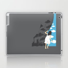 Hey Mr. Blue Sky Laptop & iPad Skin