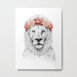 Festival lion Metal Print