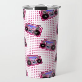 Boombox / Pink Travel Mug