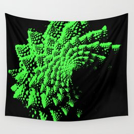 Fractal Vegetable - Math Set Wall Tapestry