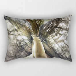 Reaching Out Rectangular Pillow