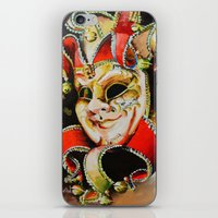clown iPhone & iPod Skins featuring CLOWN by ArtPavo