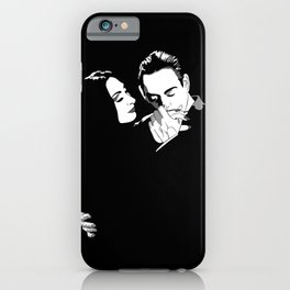Gomez & Morticia iPhone Case