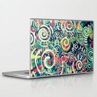physics Laptop & iPad Skins featuring Problem with Quarks by Matt Pecson