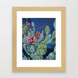 Night Fire Framed Art Print