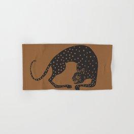 Blockprint Cheetah Hand & Bath Towel
