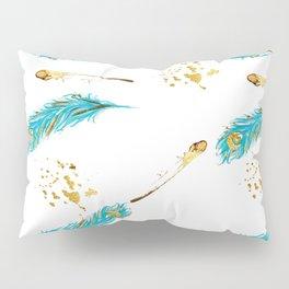 Peacocks a sparkle Pillow Sham