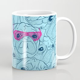 Pug jumble Coffee Mug