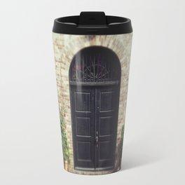 Courtyard Door Travel Mug