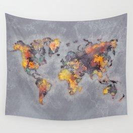 world map 111 #worldmap #world #map Wall Tapestry