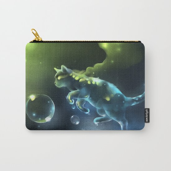 Aqua Apparition Carry-All Pouch