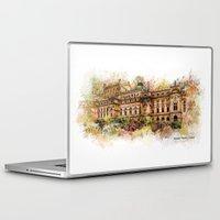 theatre Laptop & iPad Skins featuring Slowacki Theatre, Cracow by jbjart