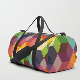 Retro Hexagonzo Duffle Bag