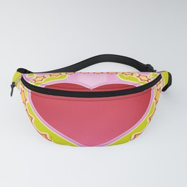 Hippie Peace and Love Fanny Pack