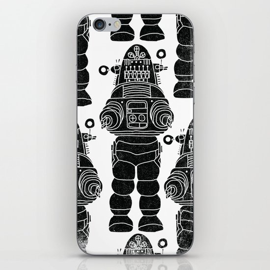 ROBBY THE ROBOT iPhone & iPod Skin