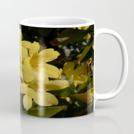 Yellow Carolina Jasmine Blossom Close Up Coffee Mug