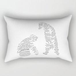 Polar Bears from Poetry Rectangular Pillow