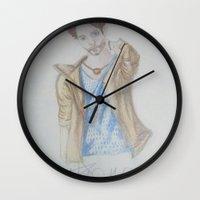 jared leto Wall Clocks featuring Jared leto by TheArtOfFaithAsylum