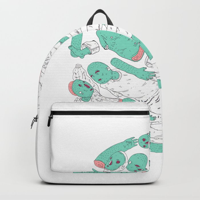 extraterrestrial ball Backpack
