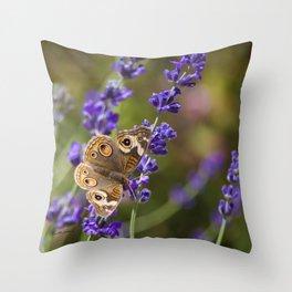 Lavender Landing Throw Pillow
