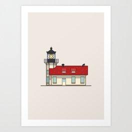 Point Cabrillo Light Station Art Print