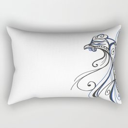 Aquatic Fowl Rectangular Pillow