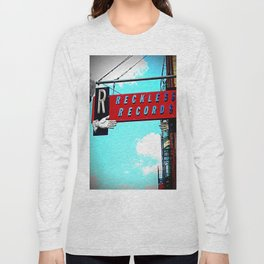Reckless Records ~ chicago sign Long Sleeve T-shirt