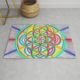 Clues in the Colors - The Rainbow Tribe Collection Rug