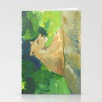 kiki Stationery Cards featuring Kiki by Paintmonkey Studios