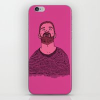 the dude iPhone & iPod Skins featuring Dude by rbengtsson