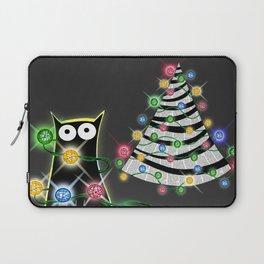Paper Christmas Tree  Laptop Sleeve