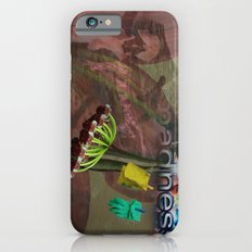 Pink Flower Dancer Collage Slim Case iPhone 6s