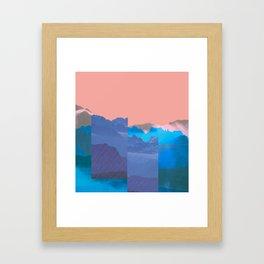 Mountain Mix 17.1 Framed Art Print