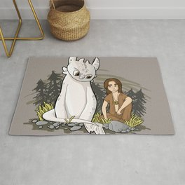 How To Train Your Luck Dragon Rug
