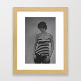 Leila Framed Art Print