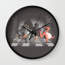 Mowgli & Friends Wall Clock