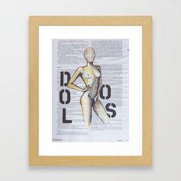 DOLOS Framed Art Print